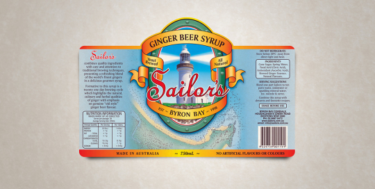 sailors ginger beer syrup