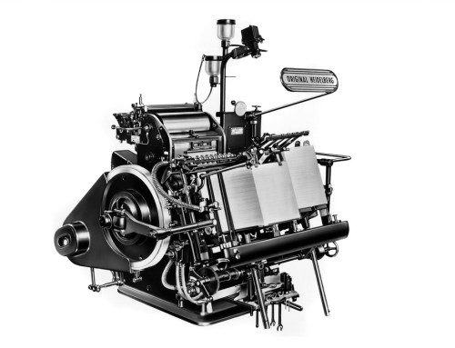 My First Love A Heidelberg Platen Letterpress