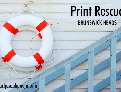 Drowning not Waving? Call Print Rescue